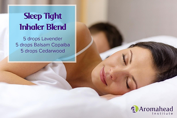 sleep better with this aromatherapy blend