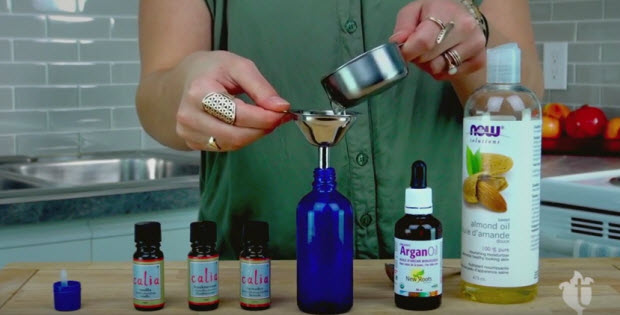 how to make a relaxing massage oil